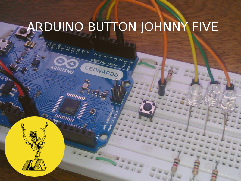 arduino button johnny five
