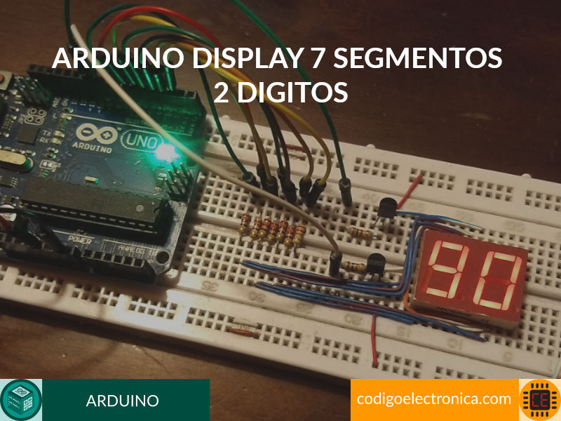 arduino display 7 segmentos 2 digitos