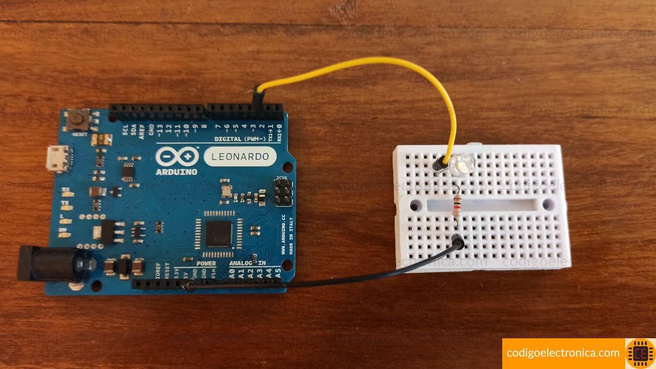 Arduino blink foto