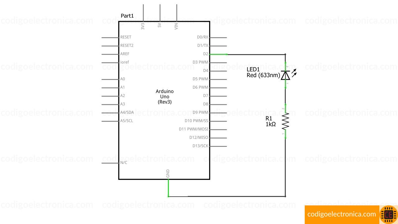 Arduino blink schem