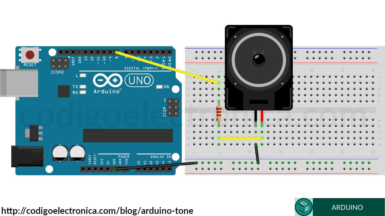 Arduino tone circuito