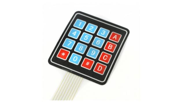 Keypad 4x4 membrana