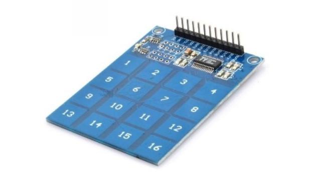 Keypad 4x4 tactil