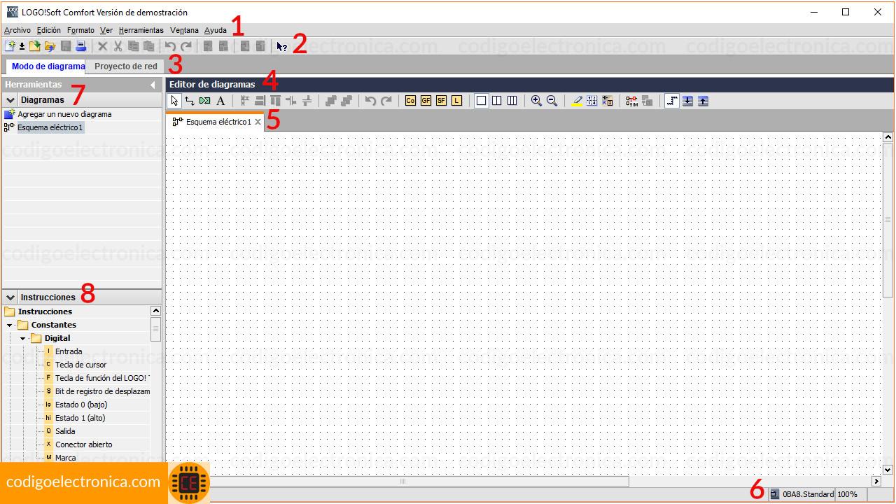 Interfaz programación