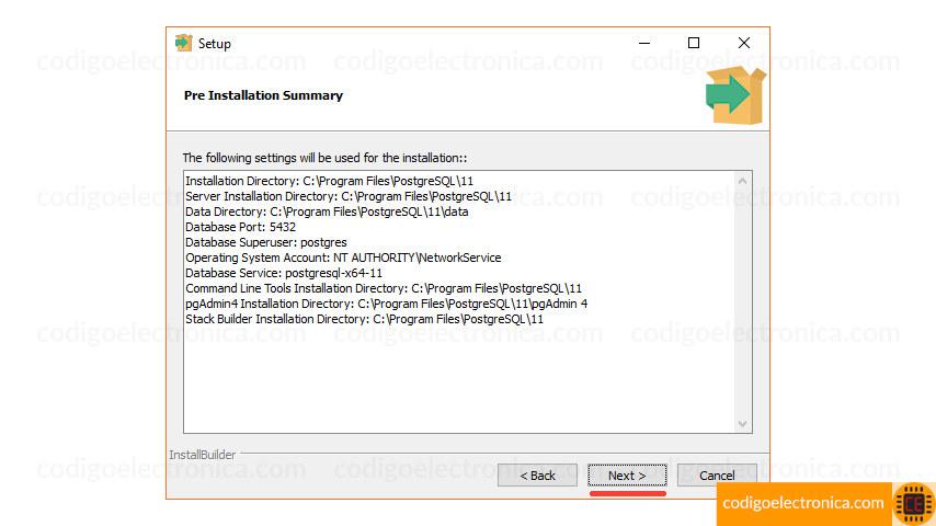 Instalación windows resumen