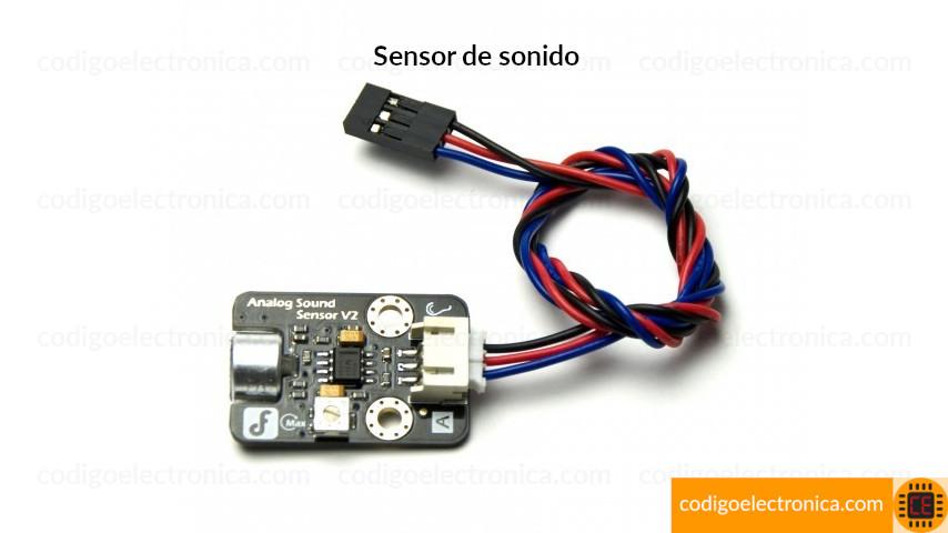 Sensor de sonido