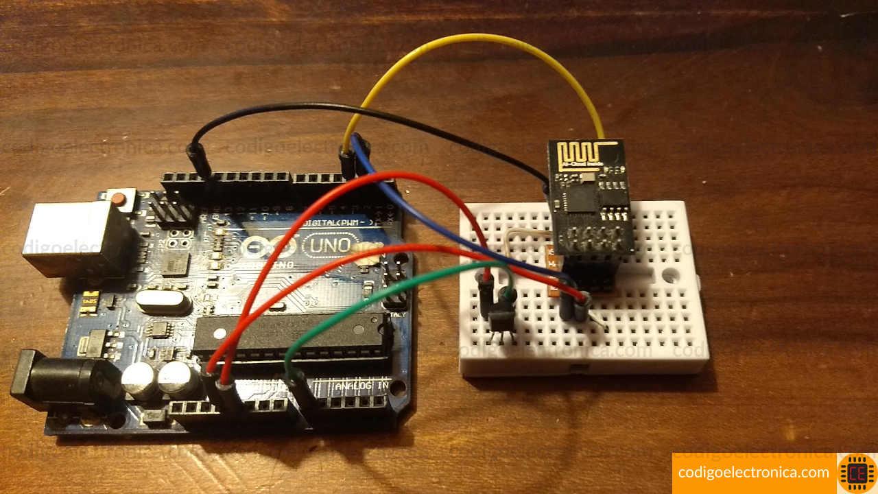 Arduino ESP8266 temperatura foto