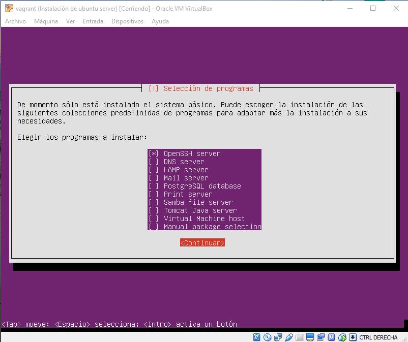 Instalar open ssh