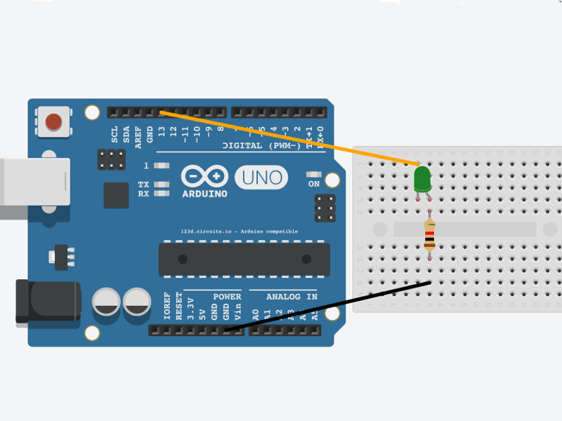 Ensamble led arduino