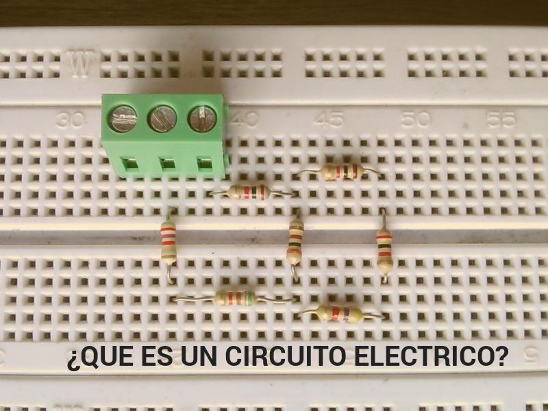 Circuito Que Es : Que es un circuito eléctrico código electrónica