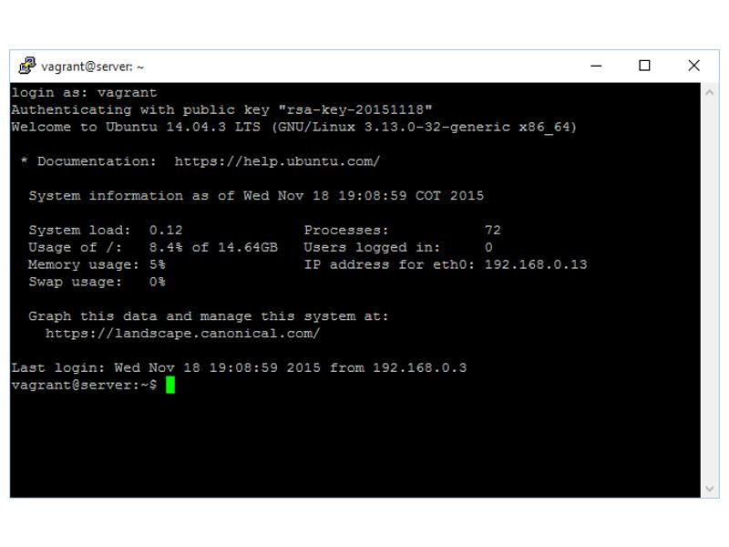 Configurar ssh ubuntu server