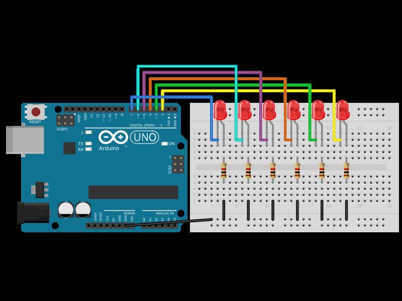 Circuito Luces Audioritmicas : Arduino luces rítmicas código electrónica